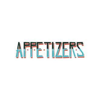 Colorful Menu Typography Set 2 Vector Appetizers Clip Art - SVG & PNG vector