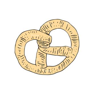 Engraved Bakery Vector Set 1 Vector Bread 08 Clip Art - SVG & PNG vector