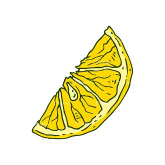 Engraved Lemons Vector Set 1 Vector Lemon 03 Clip Art - SVG & PNG lemon