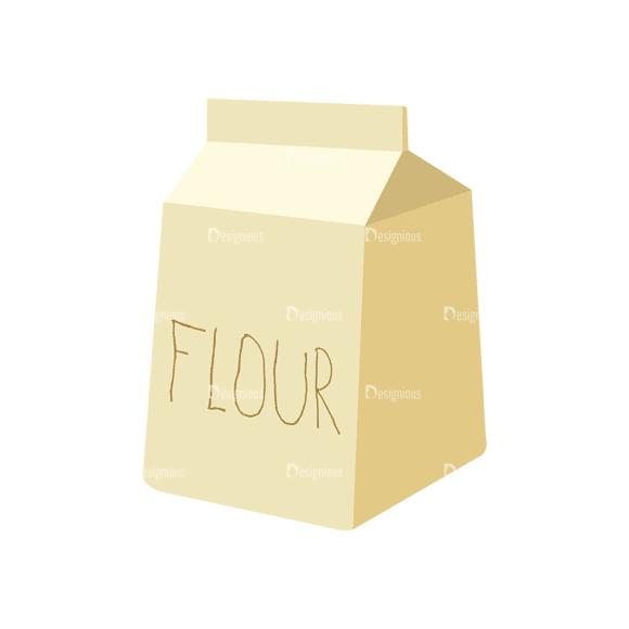 Food Recipe Vector Set 1 Vector Flour Clip Art - SVG & PNG vector