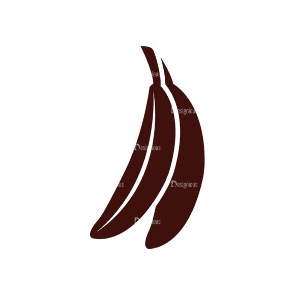 Fruits Vector Elements Set 1 Vector Banana Clip Art - SVG & PNG vector