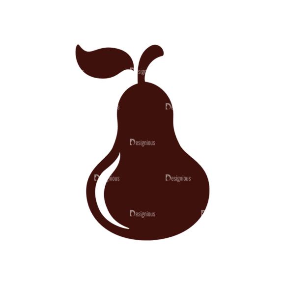 Fruits Vector Elements Set 1 Vector Pears Clip Art - SVG & PNG vector