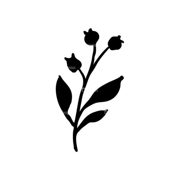 Small Fruits Set 3 Vector Small Plant 01 Clip Art - SVG & PNG vector