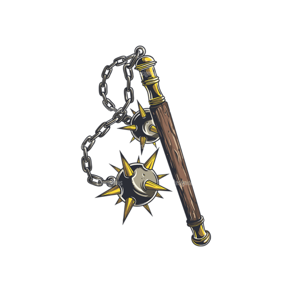 Medieval Weapons Vector 1 3 Clip Art - SVG & PNG vector