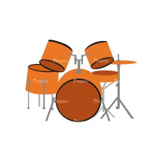 Music Genres Drums Clip Art - SVG & PNG vector