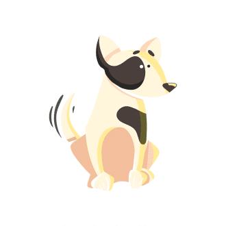 Puppies Dog 02 Clip Art - SVG & PNG vector