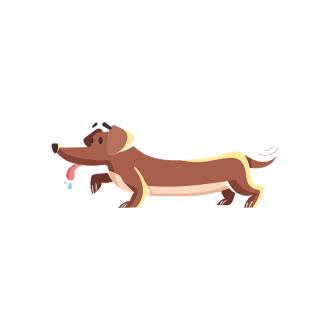Puppies Dog 03 Clip Art - SVG & PNG vector