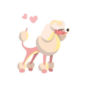 Puppies Dog 04 Clip Art - SVG & PNG vector