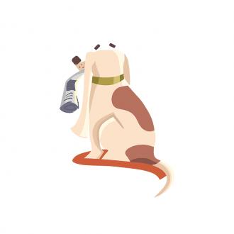 Puppies Dog 05 Clip Art - SVG & PNG vector