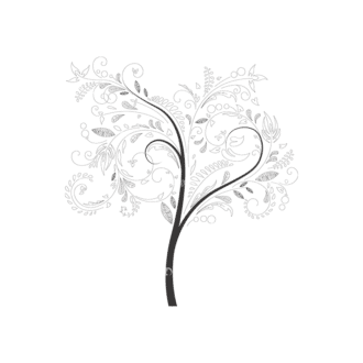 Abstract Trees 4 2 Clip Art - SVG & PNG vector
