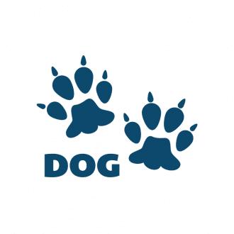 Animals Footprints Vector 1 Vectordog Clip Art - SVG & PNG vector