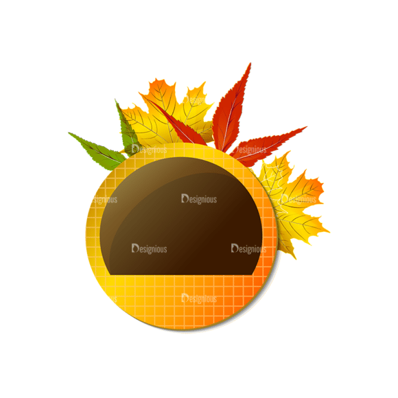 Autumn Elements Vector Leaves 21 Clip Art - SVG & PNG vector