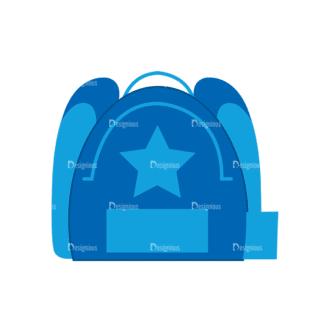 Back To School Vector Elements Vector Bag 33 Clip Art - SVG & PNG vector