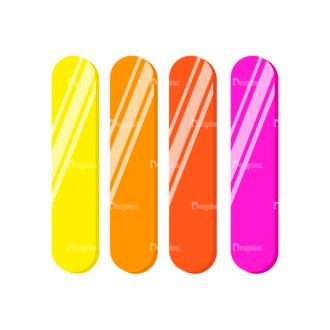 Back To School Vector Elements Vector Stick09 Clip Art - SVG & PNG vector