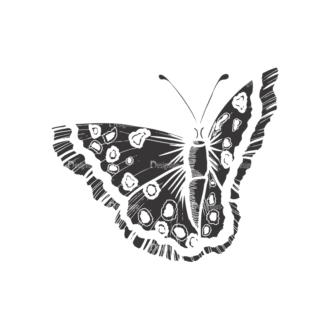 Butterflies Vector 1 13 Clip Art - SVG & PNG vector