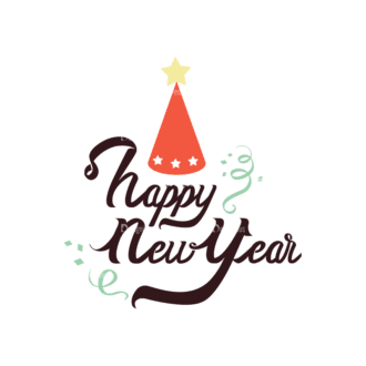 Christmas Typography 3 Vector Text 06 Clip Art - SVG & PNG vector