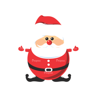 Christmas Vector 9 5 Preview Clip Art - SVG & PNG vector