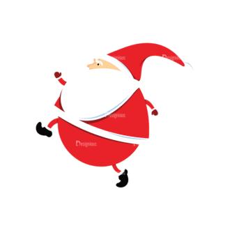 Christmas Vector Santa Vector Santa 05 Clip Art - SVG & PNG vector