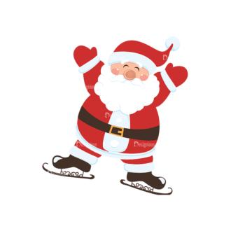 Christmas Vector Santa Vector Santa 06 Clip Art - SVG & PNG vector
