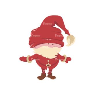 Christmas Vector Santa Vector Santa 07 Clip Art - SVG & PNG vector