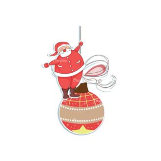 Christmas Vector Santa Vector Santa 10 Clip Art - SVG & PNG vector