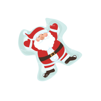 Christmas Vector Santa Vector Santa 11 Clip Art - SVG & PNG vector