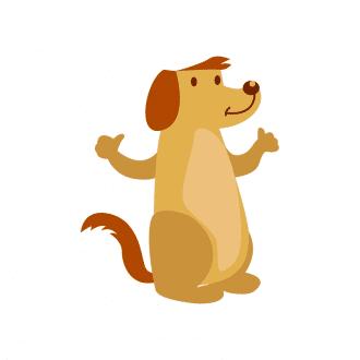 Closed Vector 1 Dog 11 Clip Art - SVG & PNG vector