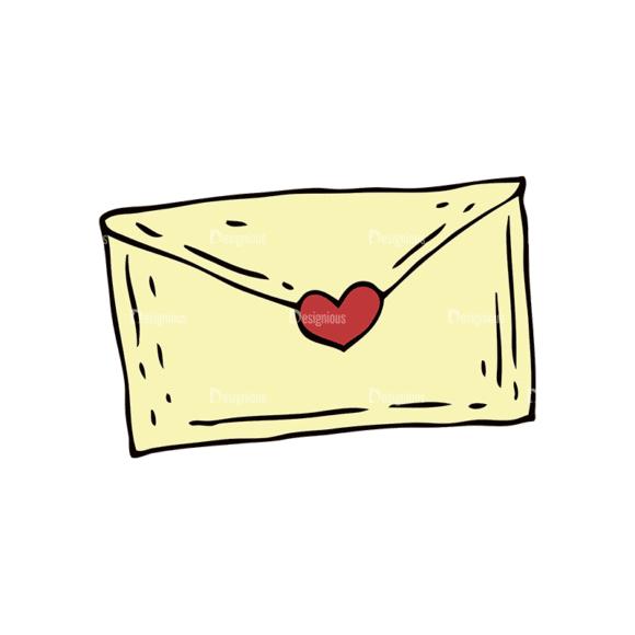 Engraved Decorative Valentines Vector Set 1 Vector Letter Clip Art - SVG & PNG vector