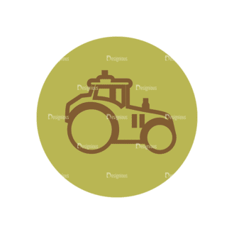 Farming Fresh Labels Set 2 Vector Car 09 Clip Art - SVG & PNG vector