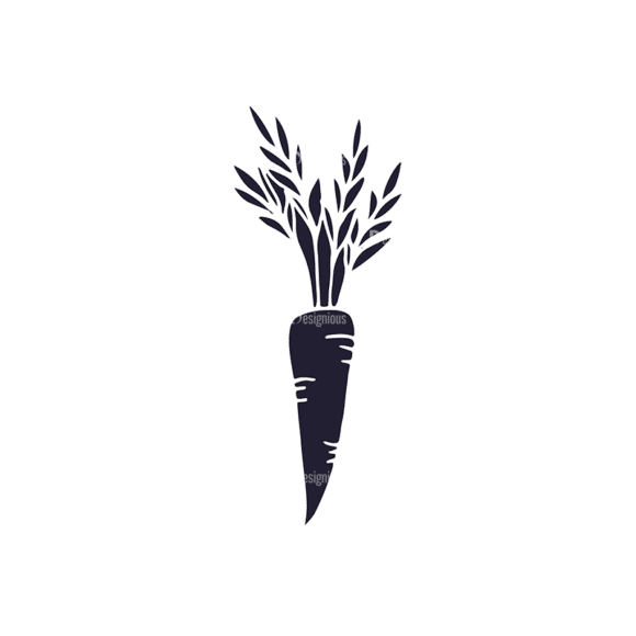 Farming Plants Vector Set 2 Vector Carrot Clip Art - SVG & PNG vector