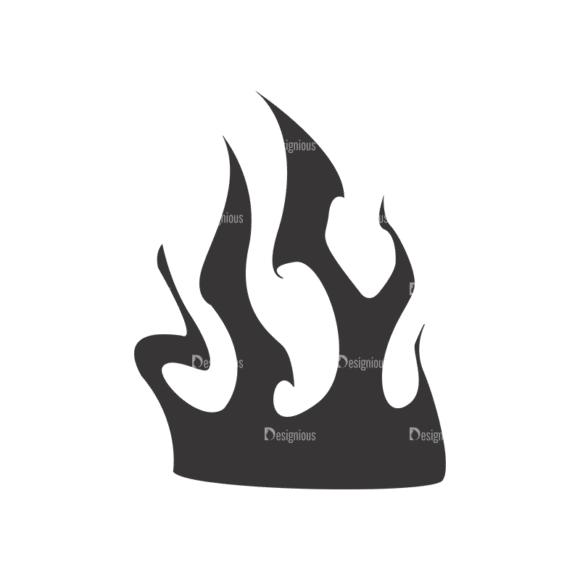 Flames Vector 1 12 Clip Art - SVG & PNG vector