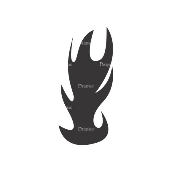 Flames Vector 1 9 Clip Art - SVG & PNG vector