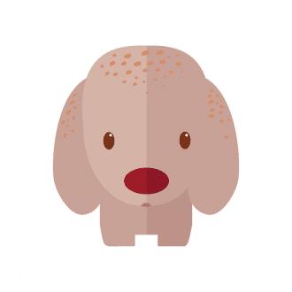 Funny Animals Vector 2 Vector Dog Clip Art - SVG & PNG vector