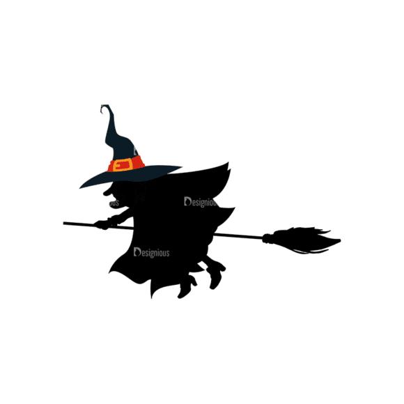 Halloween Vector Elements Set 1 Vector Witch Clip Art - SVG & PNG vector