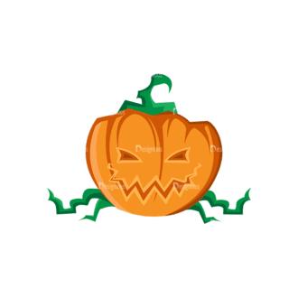 Halloween Vector Elements Set 2 Vector 05 Clip Art - SVG & PNG vector