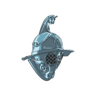 Helmet Vector 1 13 Clip Art - SVG & PNG vector