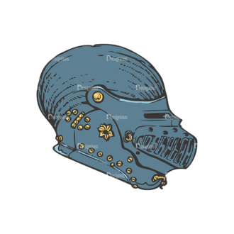 Helmet Vector 1 9 Clip Art - SVG & PNG vector