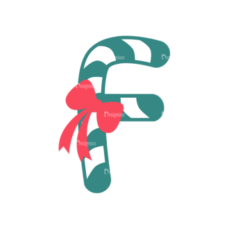 Illustrated Xmas Typography Vector F Clip Art - SVG & PNG vector