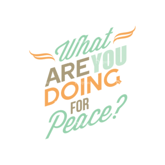 International Day Of Peace Typography 1 Vector Expanded Text 08 Clip Art - SVG & PNG vector
