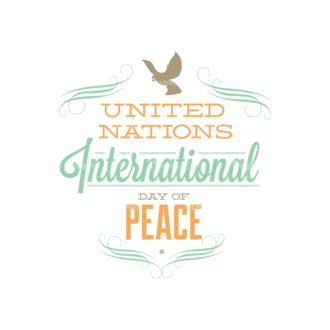 International Day Of Peace Typography 1 Vector Expanded Text 10 Clip Art - SVG & PNG vector
