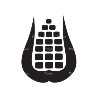 Metro Farming Icons 2 Vector Corn Clip Art - SVG & PNG vector