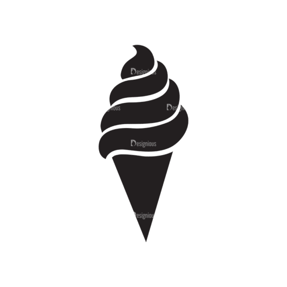 Metro Food Icons 1 Vector Ice Cream Clip Art - SVG & PNG vector