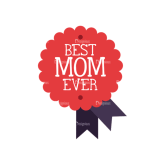 Mothers Day Vector Elements Vector Mothers Day 10 Clip Art - SVG & PNG vector