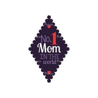 Mothers Day Vector Elements Vector Mothers Day 11 Clip Art - SVG & PNG vector
