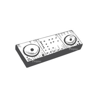 Music Vector 1 18 Clip Art - SVG & PNG vector