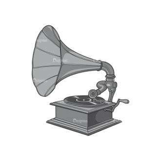 Music Vector 4 7 Clip Art - SVG & PNG vector