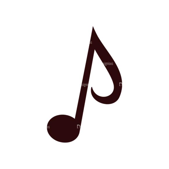 Music Vector Elements Set 1 Vector Notes 02 Clip Art - SVG & PNG vector