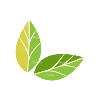 Nature Vector Set 2 Vector Leaves 09 Clip Art - SVG & PNG vector