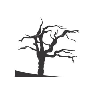 Normal Trees Vector 1 15 Clip Art - SVG & PNG vector