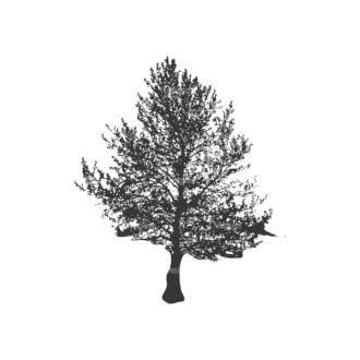 Normal Trees Vector 1 5 Clip Art - SVG & PNG vector